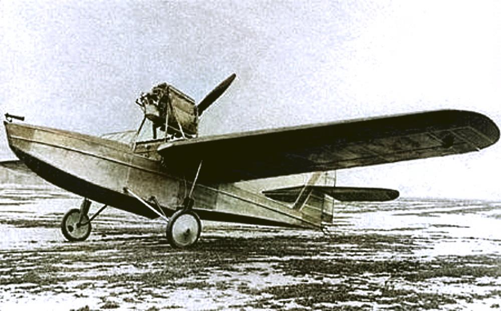 Летающая лодка PZL. 12. Начало 1931 г