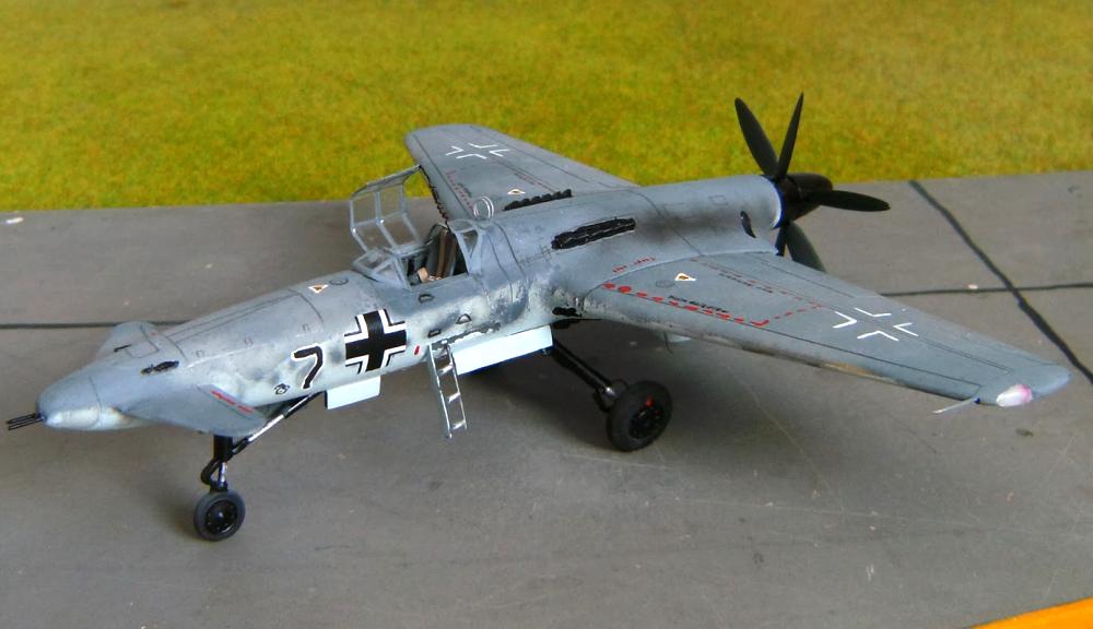 Henschel Hs P.75 — не летавшая «утка»
