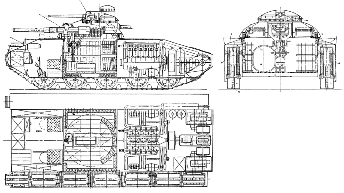 ТА-1(Т-1001) — проект маневренного танка СССР