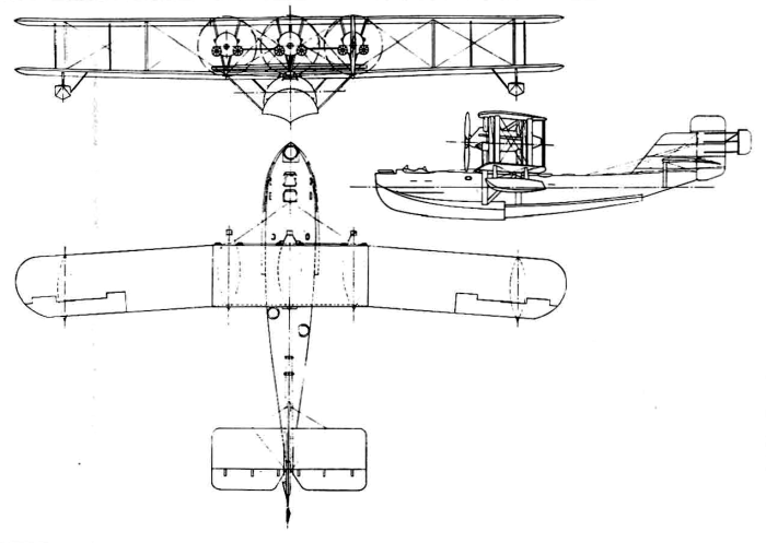 Схема Saunders A.3 Valkyrie