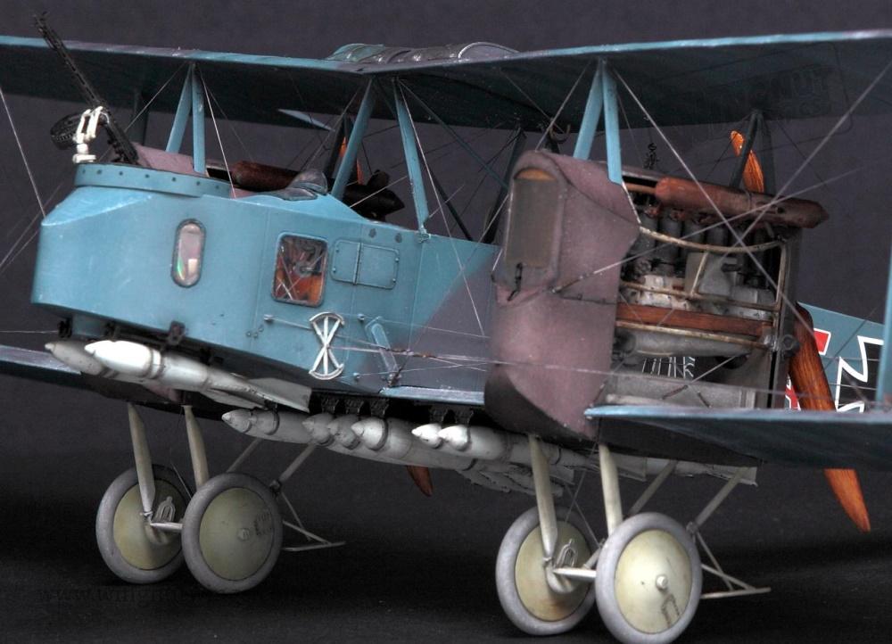 Gotha G.V как родоначальник стратегической авиации