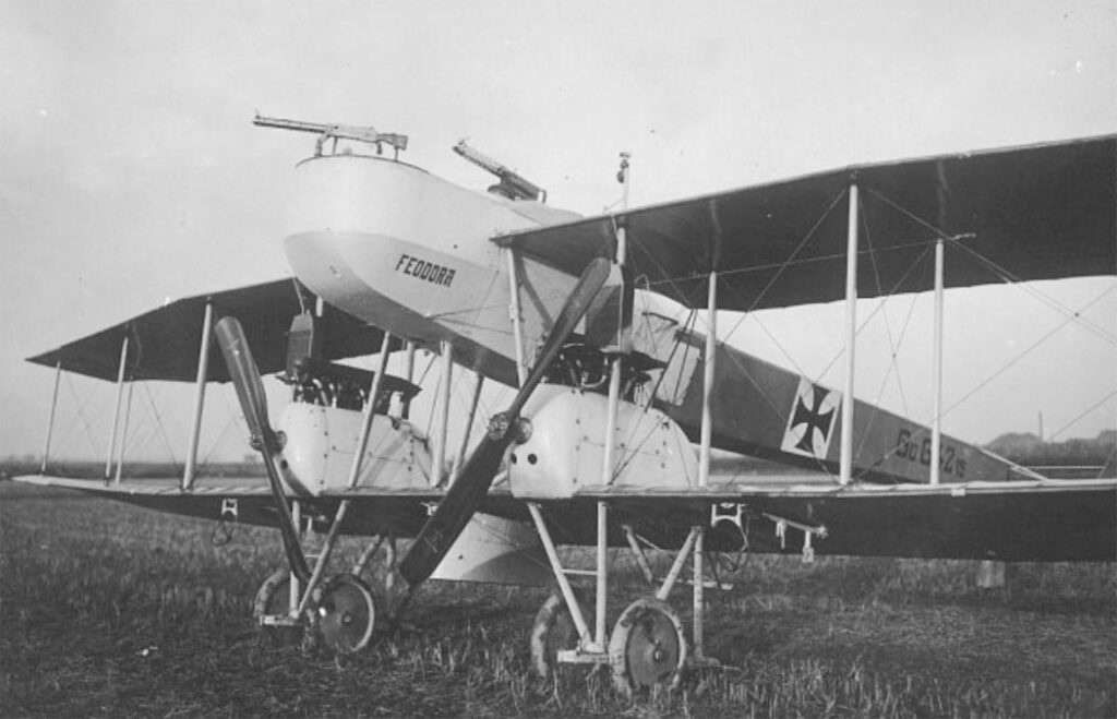 Бомбардировщик Gotha G.I