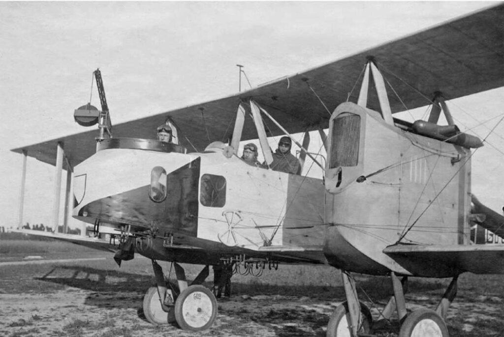 Gotha G.IV готов к вылету