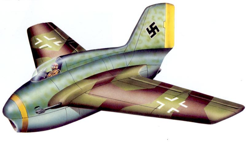 Lippisch P.20 — проект Ме.163 с ТРД