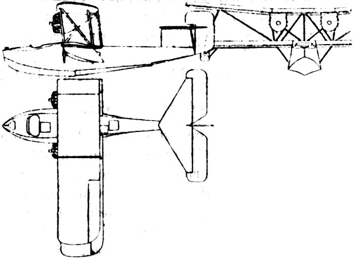 Схема Saunders А.4 Medina