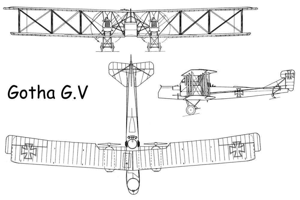 Схема Gotha G.V