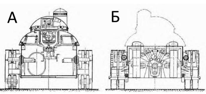 ТА-2(Т-1002) — проект танка с новой концепцией