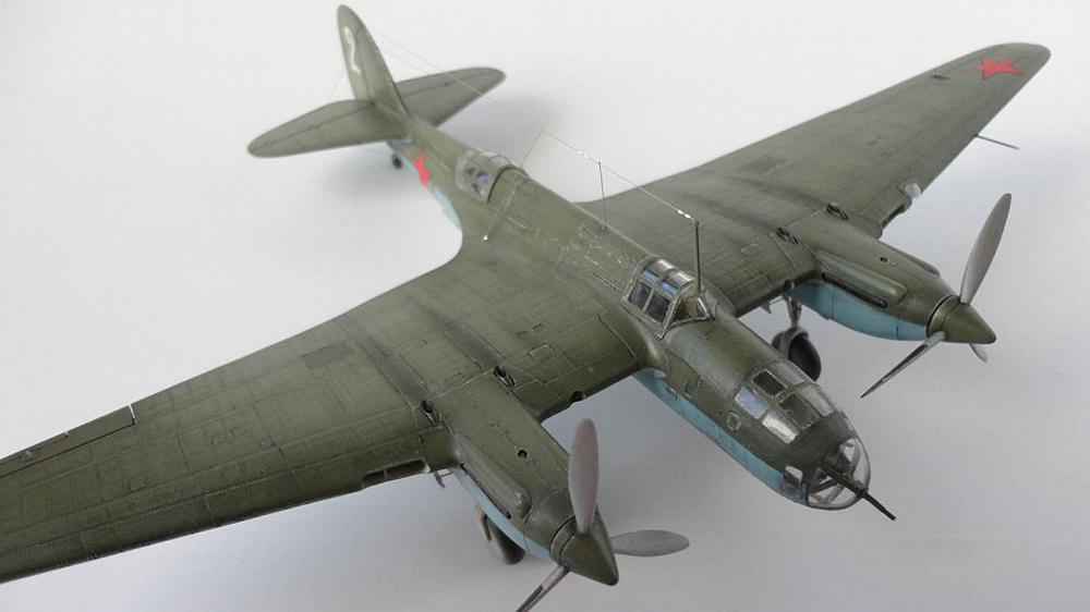 Ар-2 — СБ с «урезанным крылом»
