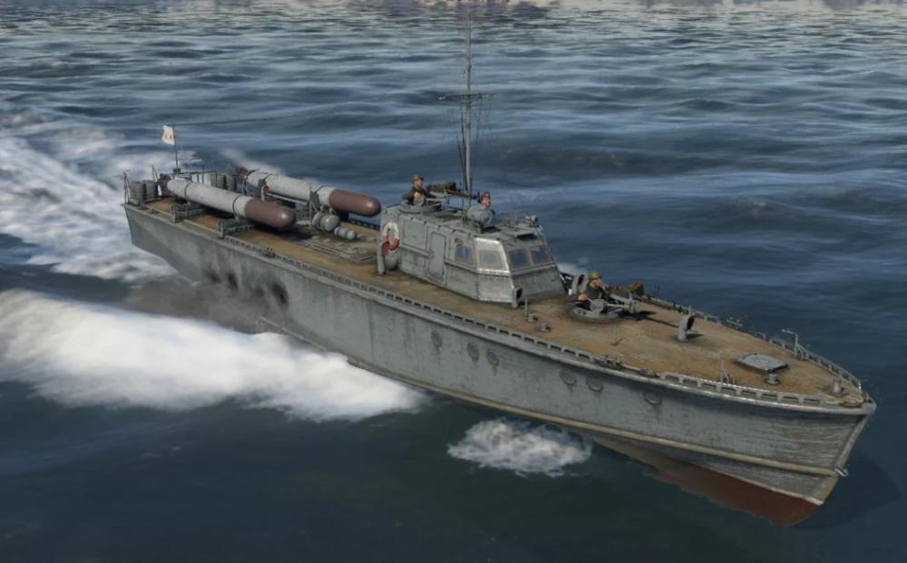 Торпедный катер Д-3 в War Thunder
