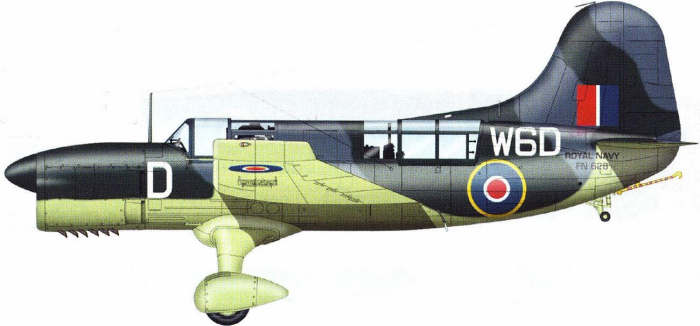 «Seamew» Mk.I авиации Королевского флота