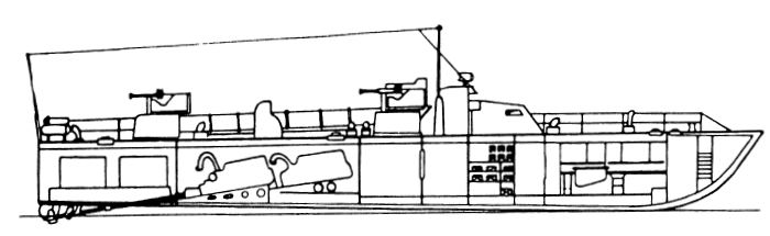 ТД-200бис (без РЛС) в разрезе