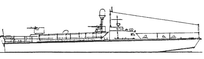 ТД-200бис с РЛС 1950 г.