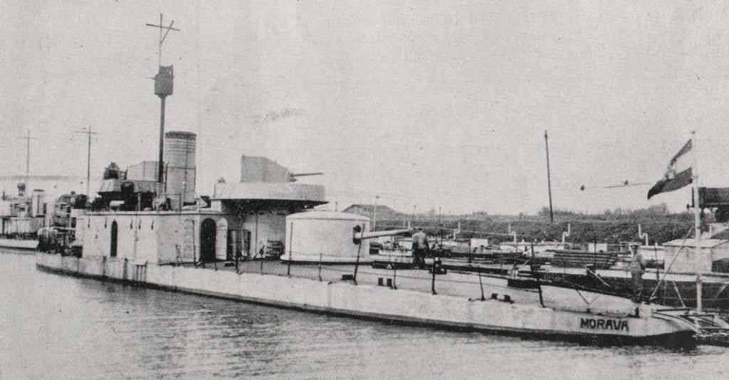 Moravа» (бывший «Körös») в речном флоте Югославии