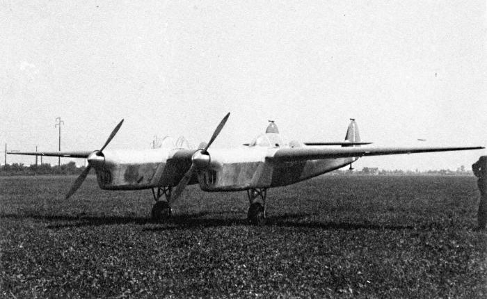 Прототип BN.1 на аэродроме Аркор