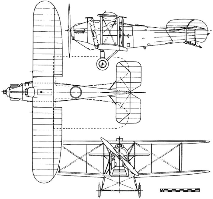 Схема Avro Bison