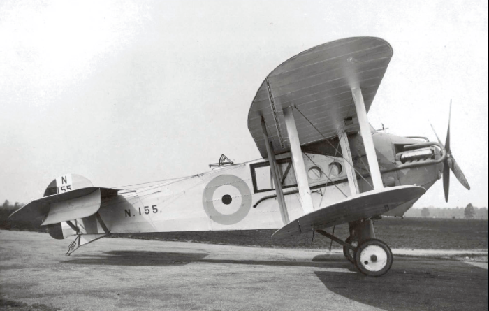 Avro Bison N155 в Госпорт