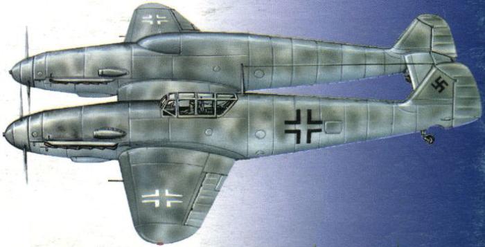 Bf.109Z — сиамские близнецы Мессершмитта