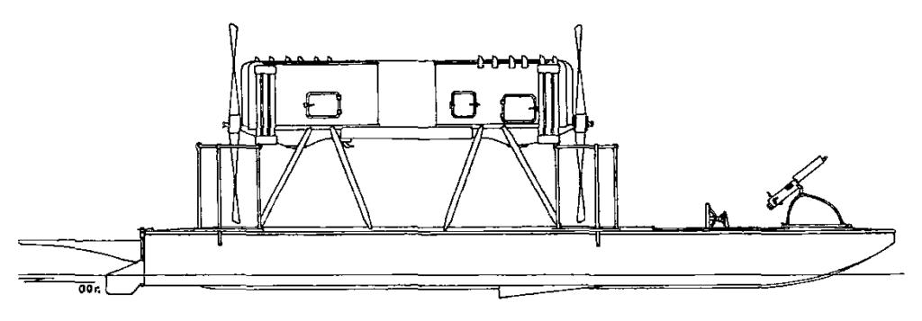 Проект торпедного катера А.А.Зернова