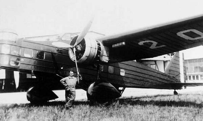 Серийный вариант Bloch MB.200BN4
